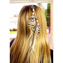 Bijou de cheveux amérindien...