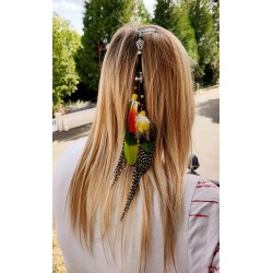 Bijou de cheveux plumes de...