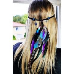 Headband avec plumes...