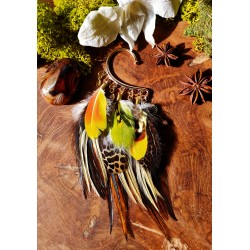 Ear cuff plumes naturelles...