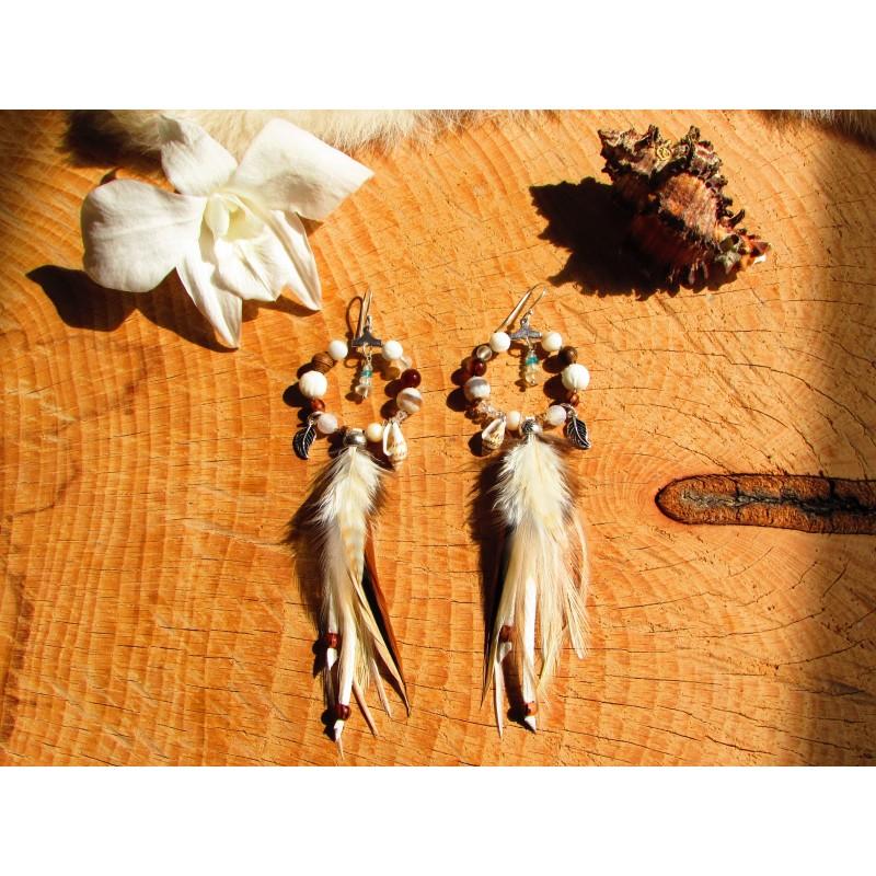 """Boucles d'oreilles """"Orchid paradise"""""""