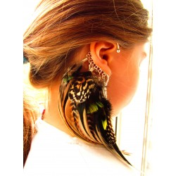 "Ear cuff ""Savage night"""