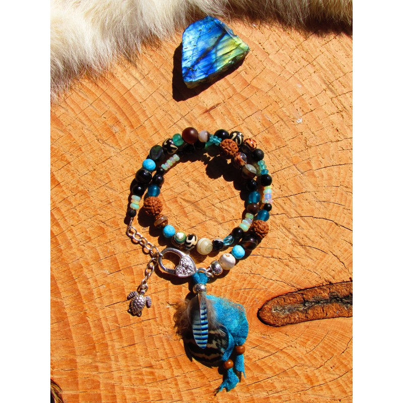 "Bracelet double ""Exotica"""
