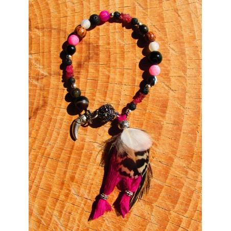 """Bracelet ethnique """"L'élixir de rose"""""""