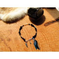 "Bracelet de cheville ""Shine in dark"""