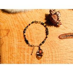 """Bracelet de cheville """"Gold fox"""""""
