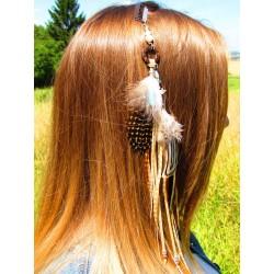 """Bijou cheveux """"Le renard des dunes"""""""