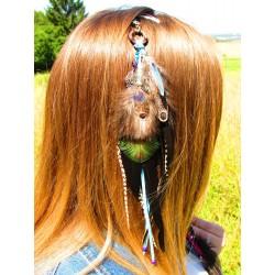 """Bijou de cheveux """"Le lagons des dauphins"""""""