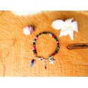 "Bracelet de cheville ""The pink beach"""