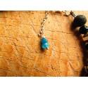 """Bracelet de cheville """"Blue earth"""""""