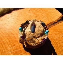 "Bracelet ""Between moon and earth"""