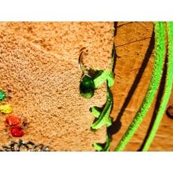 Pochette médecine totem du serpent