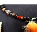 """Collier totem tortue """"Fire island"""""""
