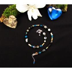 "Bracelet double ethnique totem dauphin ""Moorea"""