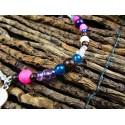 """Bracelet de cheville ethnique plumes """"Dreaming of you"""""""