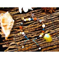 """Bracelet ethnique totem étoile de mer """"Moorea lagoon"""""""