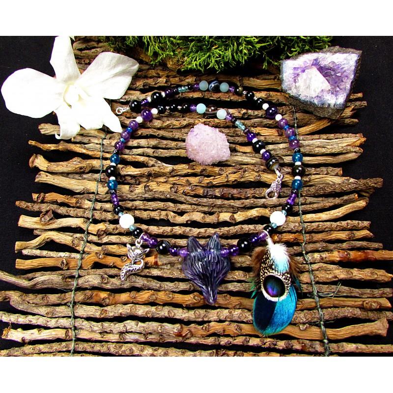Collier ethnique chamanique